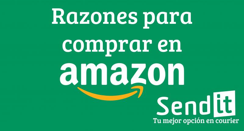 Razones por las que Amazon es el número uno en Ventas Online