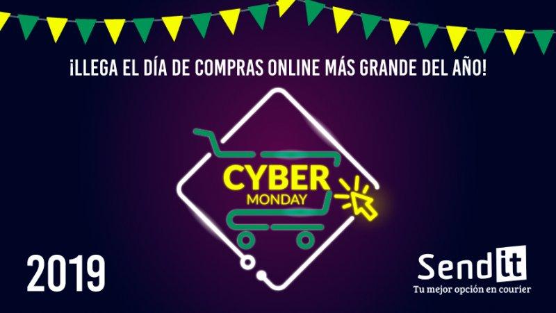 El Cyber Monday llega también a nuestro país, con Sendit podés ser parte!